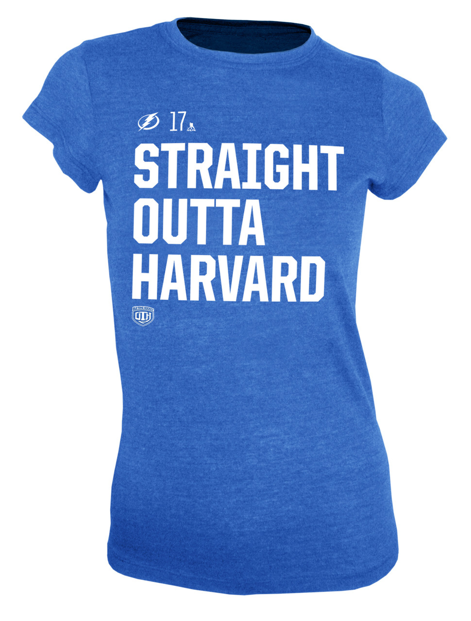 3f3b237a Women's Tampa Bay Lightning Straight Outta Harvard Social Inspired T-Shirt  - Tampa Bay Sports