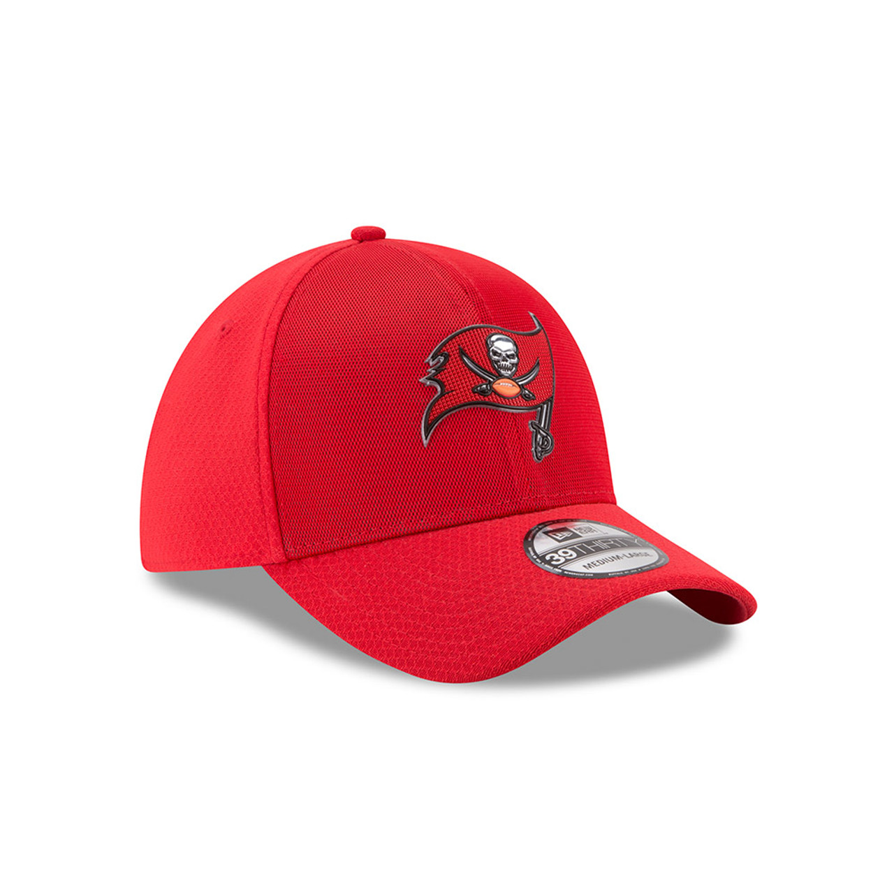 the latest 00181 2413a Tampa Bay Buccaneers New Era 2017 Color Rush 39THIRTY Hat