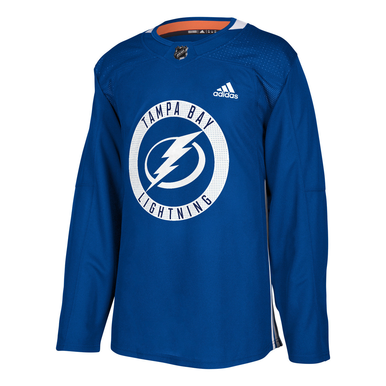 ADIZERO Authentic Tampa Bay Lightning BLUE Practice Jersey Tampa  for cheap