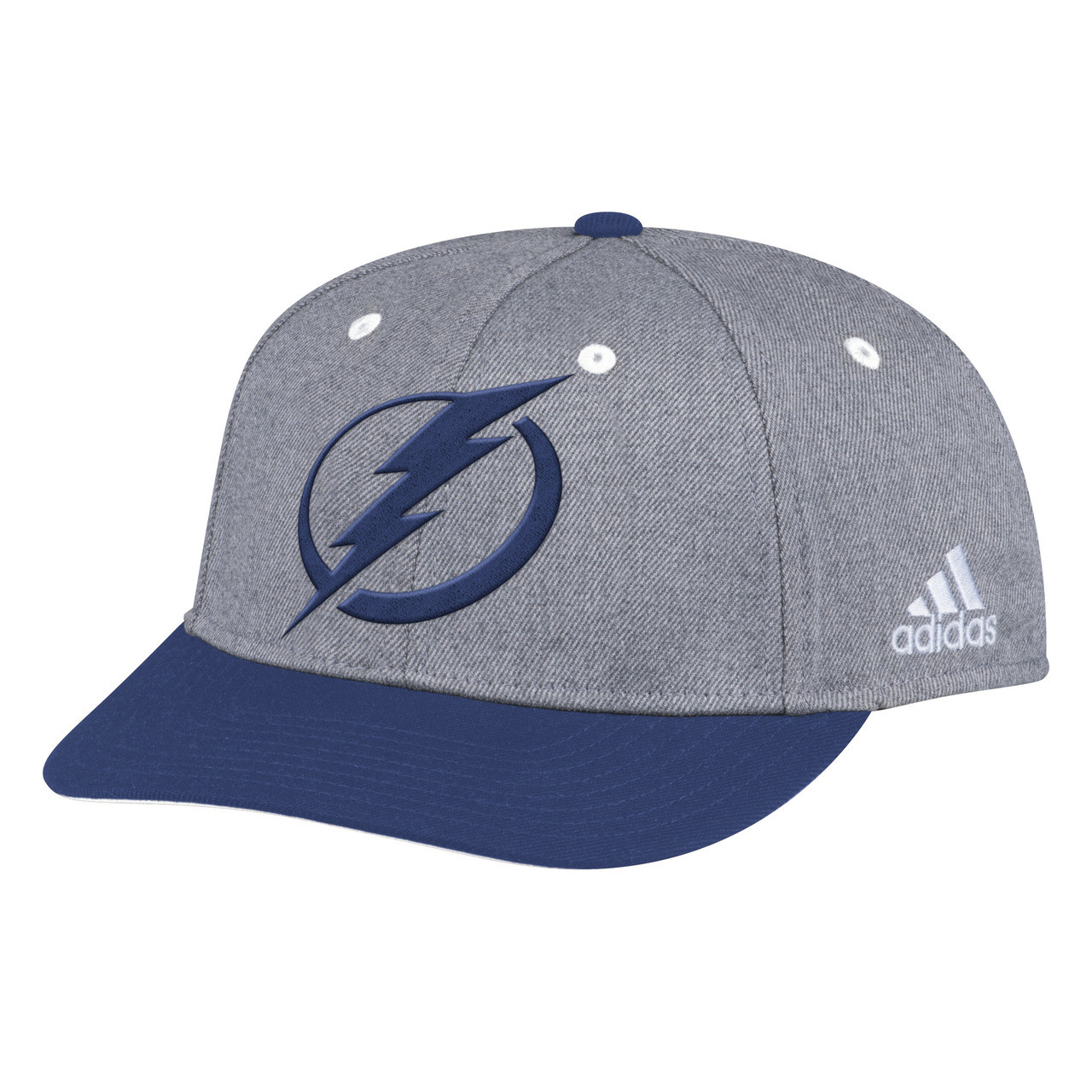 e41e32b8 Tampa Bay Lightning adidas Two Tone Structured Adjustable Hat. Adidas