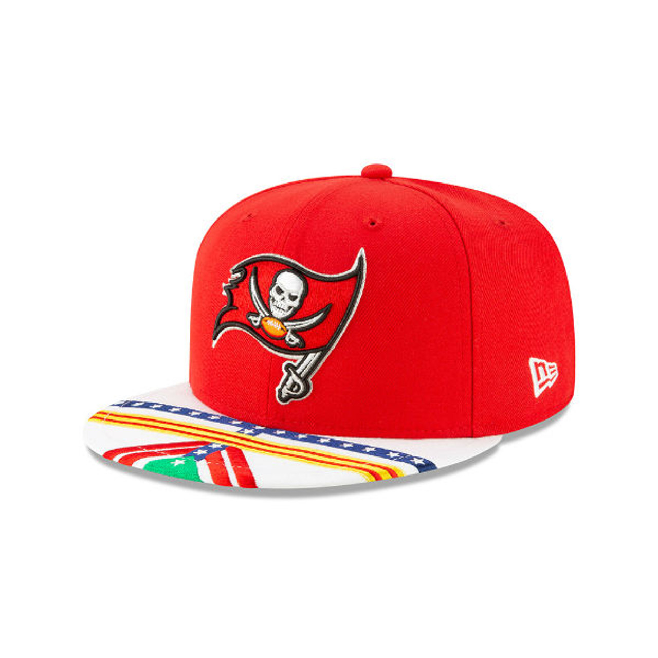 5f962a24e8810c Men's Tampa Bay Buccaneers New Era 2019 NFL Draft On Stage Official 9Fifty  Hat - Tampa Bay Sports