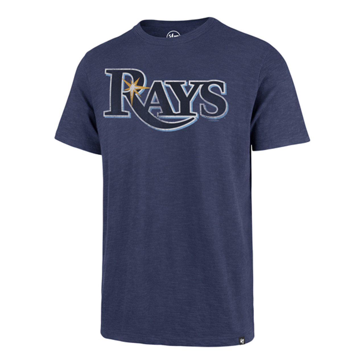 f8bf283f Men's Tampa Bay Rays '47 Bleacher Wordmark Scrum Tee