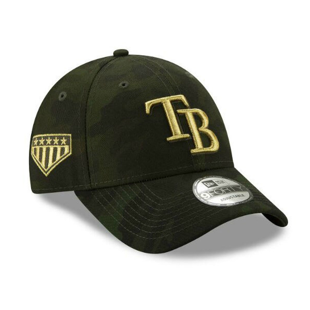 cheap for discount 6a3a6 cd9f2 Men s Tampa Bay Rays New Era 2019 MLB Armed Forces Day 9FORTY Adjustable Hat  - Tampa Bay Sports