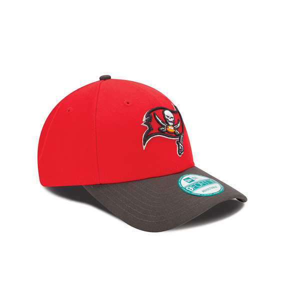a5f66895 Youth Tampa Bay Buccaneers New Era Red League 9FORTY Adjustable Hat