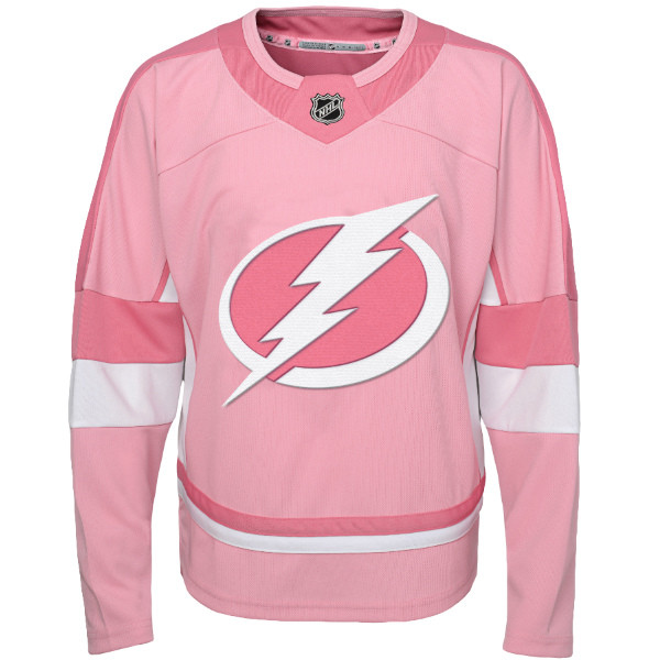 separation shoes 2cf81 2a45e Tampa Bay Lightning Infant Pink Fashion Jersey