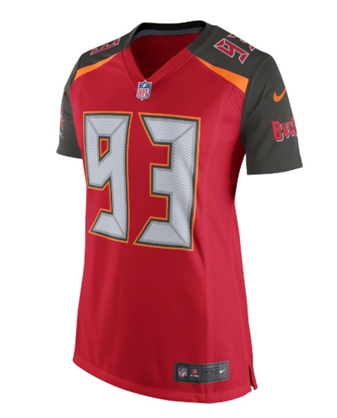 new arrival 98668 0ac2a #93 Gerald McCoy Nike Tampa Bay Buccaneers Women's Jersey