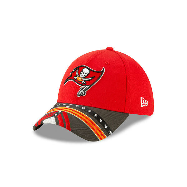 28f4c27f Men's Tampa Bay Buccaneers New Era 2019 NFL Draft On Stage Official  39Thirty Hat