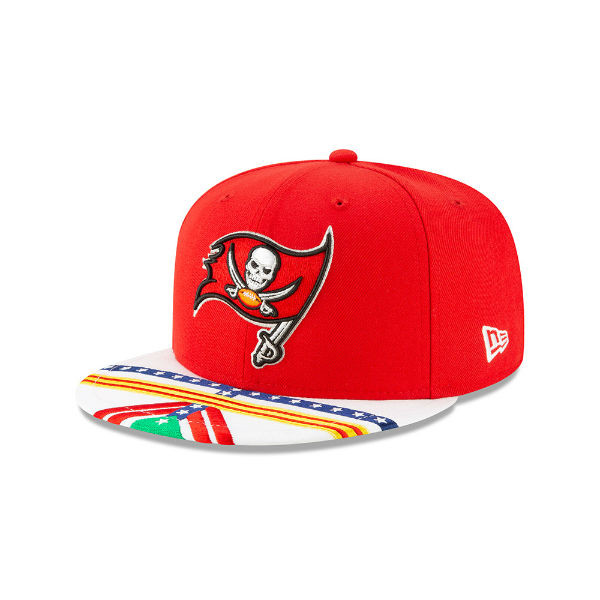4b8e70d2 Men's Tampa Bay Buccaneers New Era 2019 NFL Draft On Stage Official 9Fifty  Hat