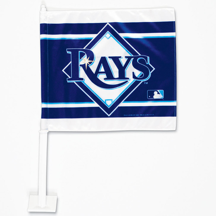 Tampa Bay Rays Double-Sided Car Flag