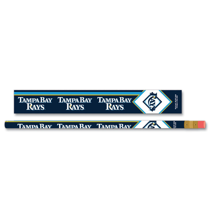 Tampa Bay Rays 6 Pack Pencils