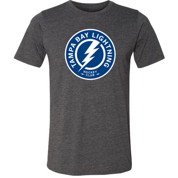 Men's Tampa Bay Lightning Shoulder Patch Logo Tee