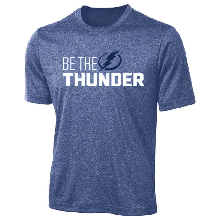 Youth Tampa Bay Lightning Be The Thunder Performance Tee