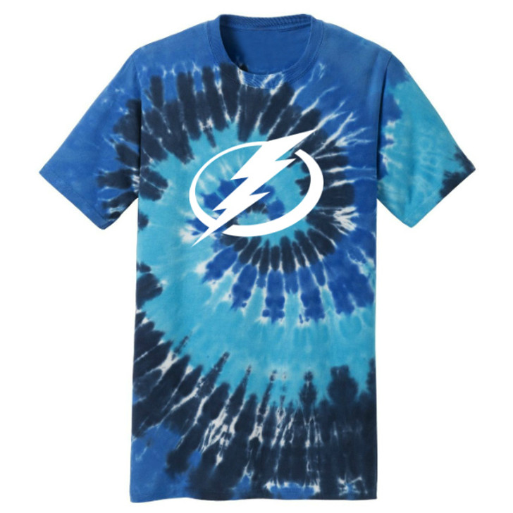 Tampa Bay Lightning Tie-Dye T-shirt