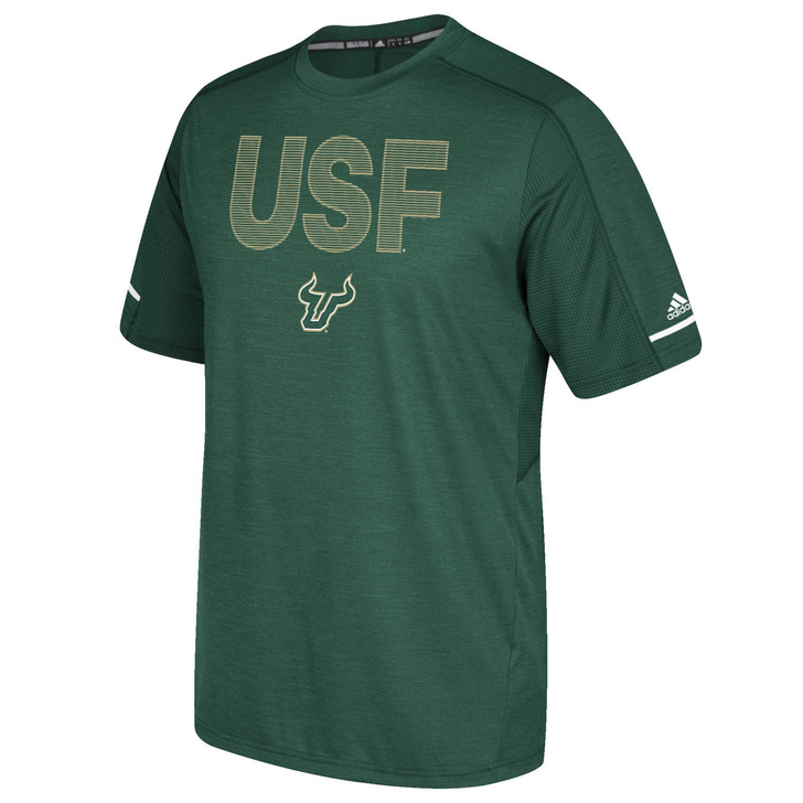 Men's USF Bulls Adidas Official Sideline Training Tee