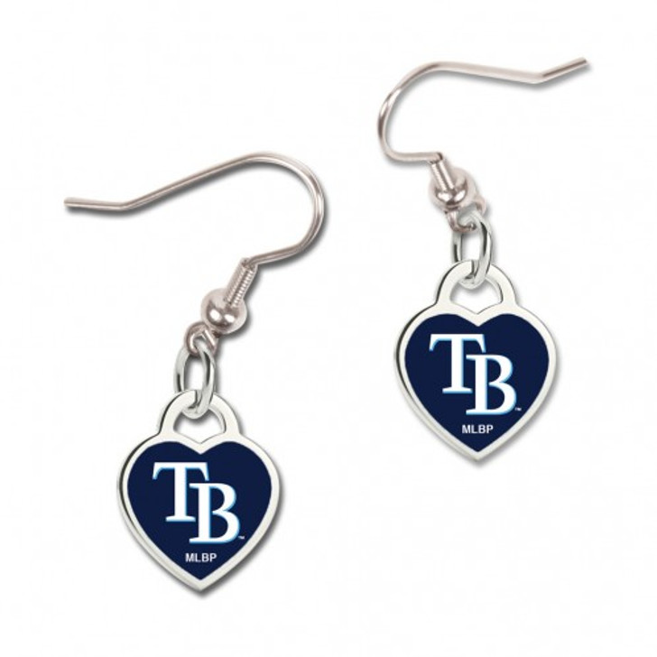 Tampa Bay Rays WinCraft 3D Heart Earrings