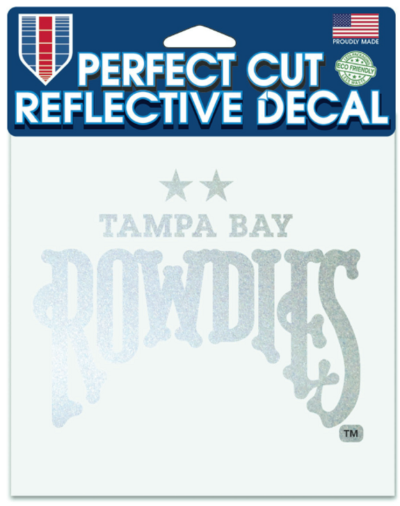 tampa bay rowdies perfect cut reflective decal tampa bay sports tampa bay rowdies perfect cut reflective decal