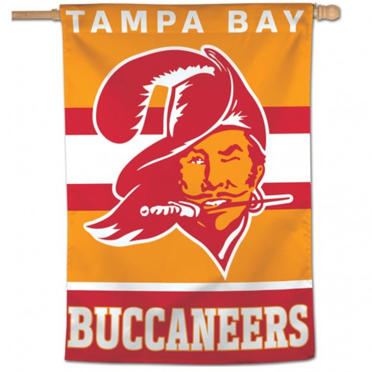 Tampa Bay Buccaneers WinCraft  Retro Vertical Flag