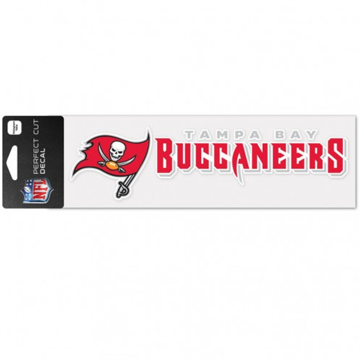 """Tampa Bay Buccaneers 3x10"""" Perfect Cut Decal"""