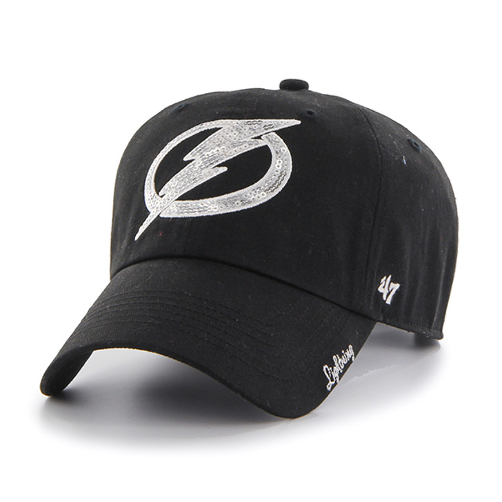 Women's Tampa Bay Lightning '47 Black Sparkle Clean Up Hat
