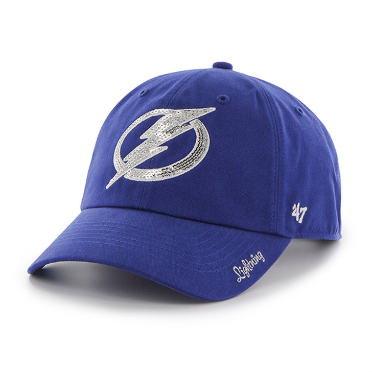 Women's Tampa Bay Lightning '47 Royal Sparkle Clean Up Hat