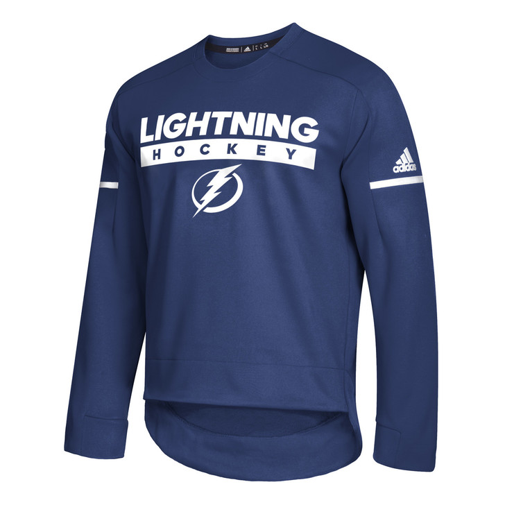 énorme réduction e91ec 7f929 Men's Tampa Bay Lightning adidas Crew Squad Pull Over