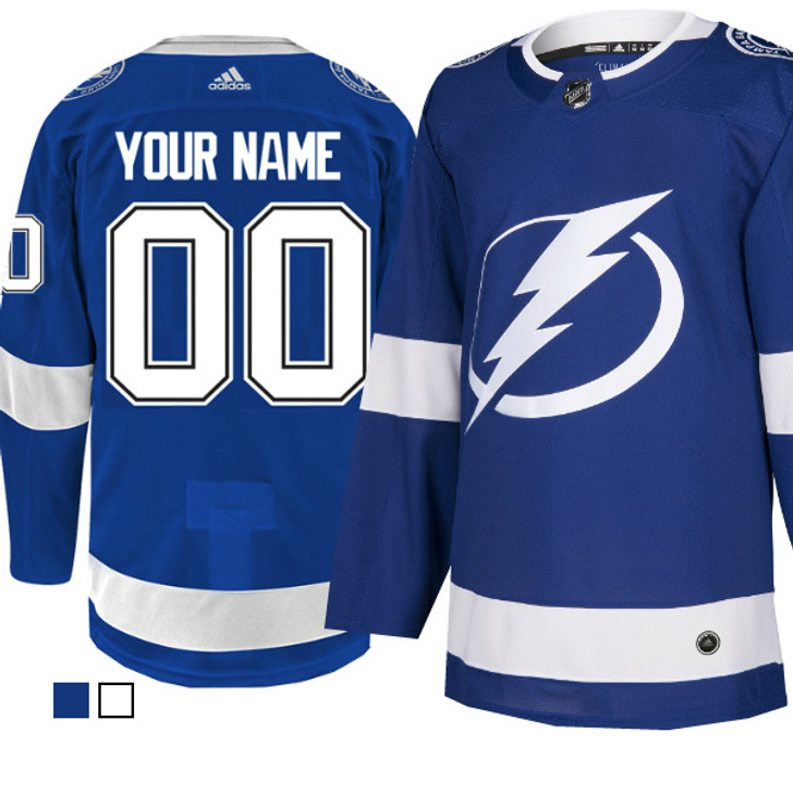 PERSONALIZED (CUSTOMIZED) adidas ADIZERO Lightning Jersey with Authentic Lettering