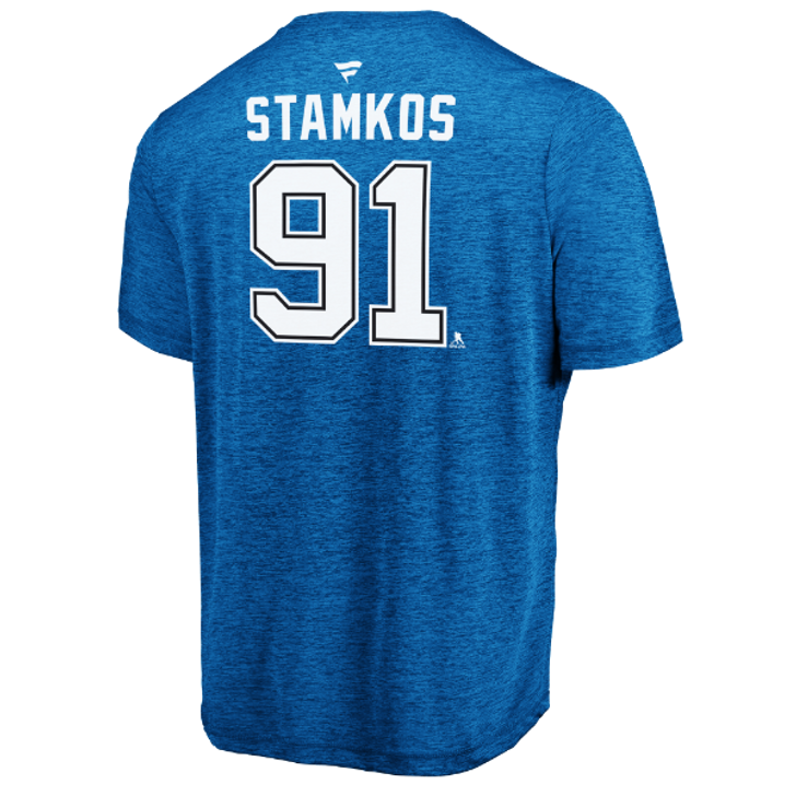 Men's Tampa Bay Lightning Steven Stamkos Name & Number Performance Tee