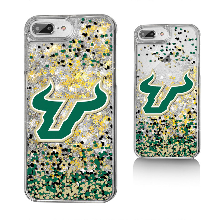 USF Bulls Glitter iphone X Case