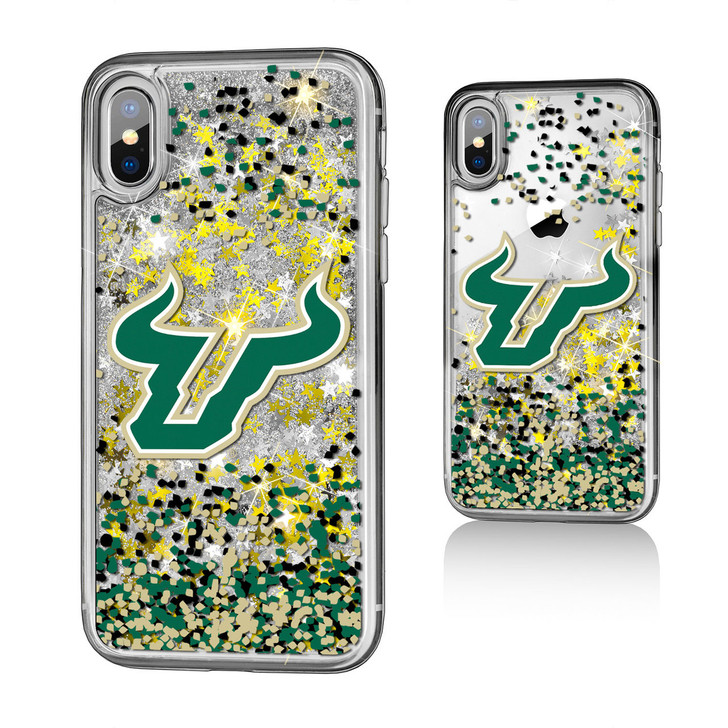 USF Bulls Glitter iphone 6/7/8 Plus Case