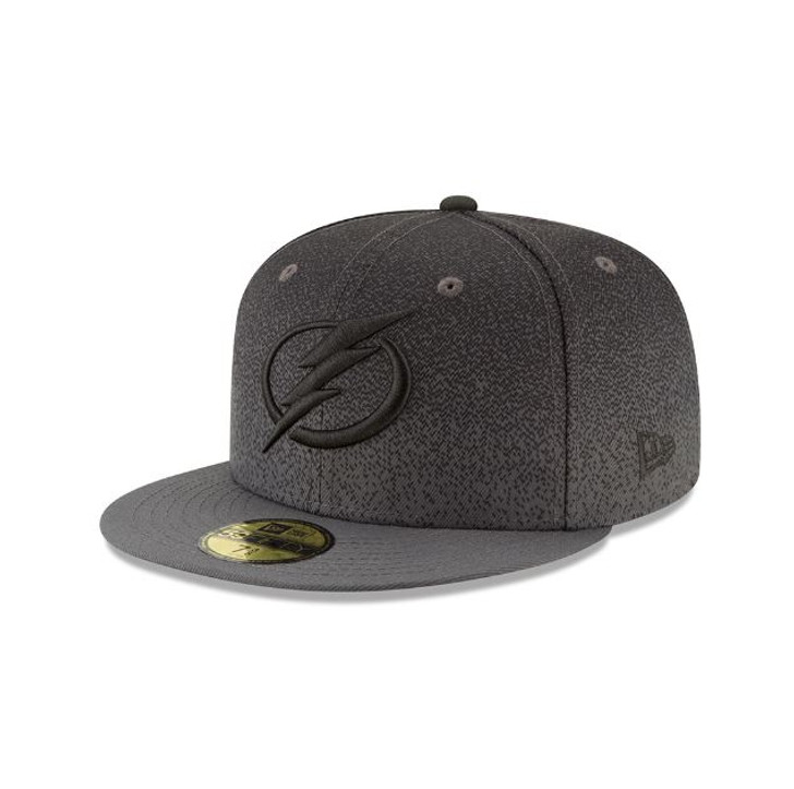 Men's Tampa Bay Lightning New Era 59FIFTY Third Jersey Fitted Hat