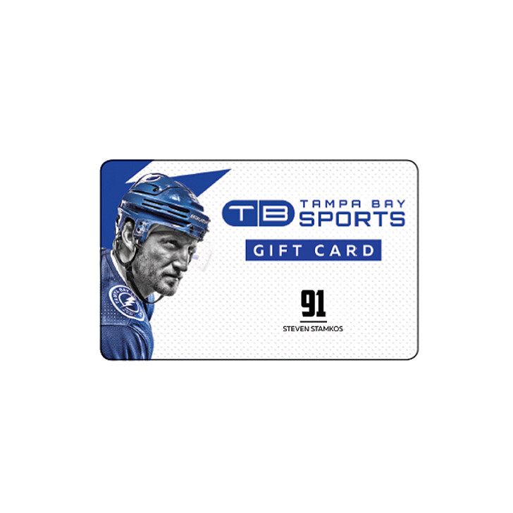 Tampa Bay Sports Limited Edition Steven Stamkos Gift Card - Redeemable IN STORE ONLY