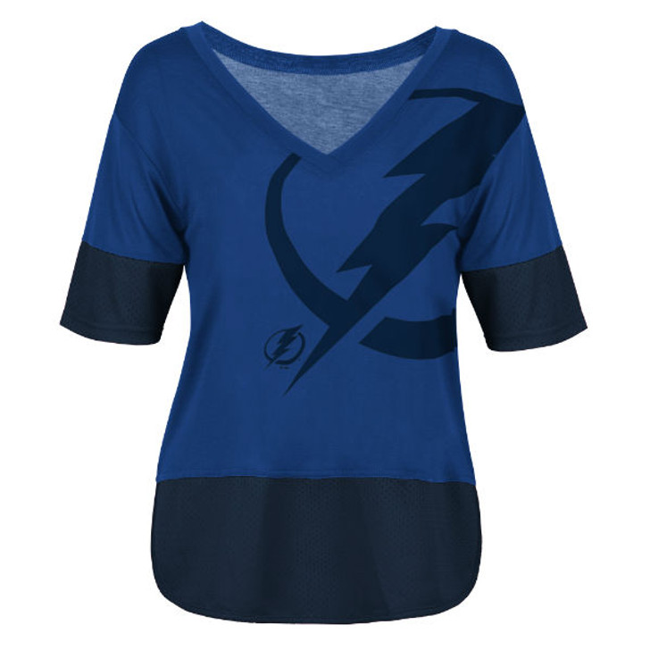 Women's Tampa Bay Lightning G-lll 1st Place Tee
