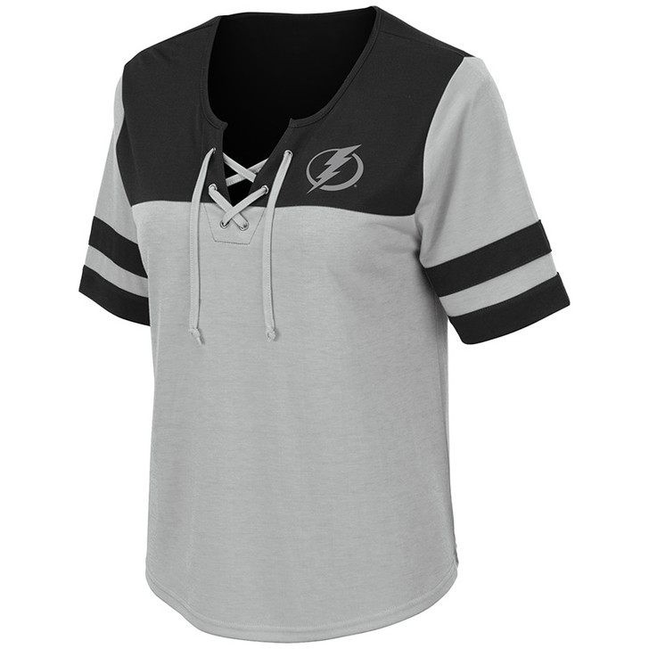 Tampa Bay Lightning Naples Lace Up Tee