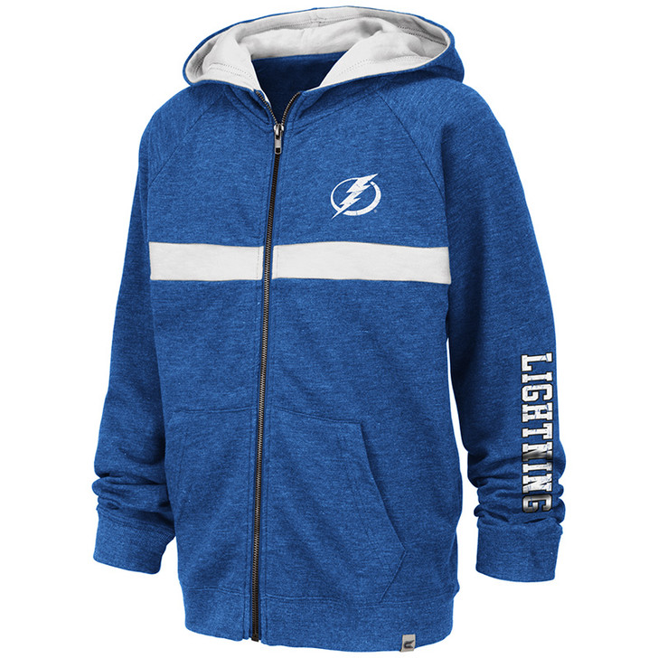 Tampa Bay Lightning Youth Win Full Zip Hoodie