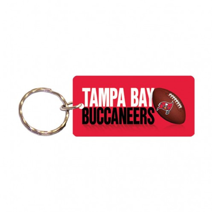 Tampa Bay Buccaneers Team Rectangle Key Chain