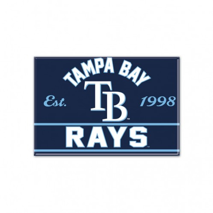 """Tampa Bay Rays 2.5 x 3.5"""" Magnet"""