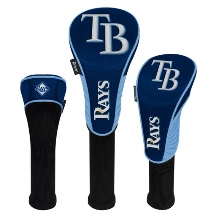 Tampa Bay Rays 3 Pack Head Covers