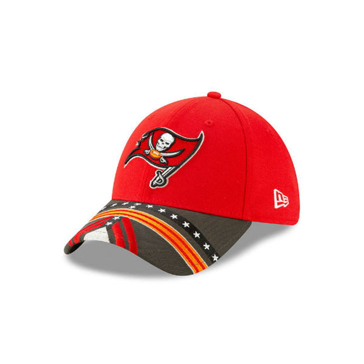 Men's Tampa Bay Buccaneers New Era 2019 NFL Draft On Stage Official 39Thirty Hat