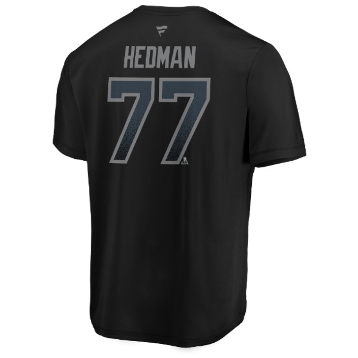 Men's Tampa Bay Lightning Victor Hedman Name & Number Performance Third Jersey Tee