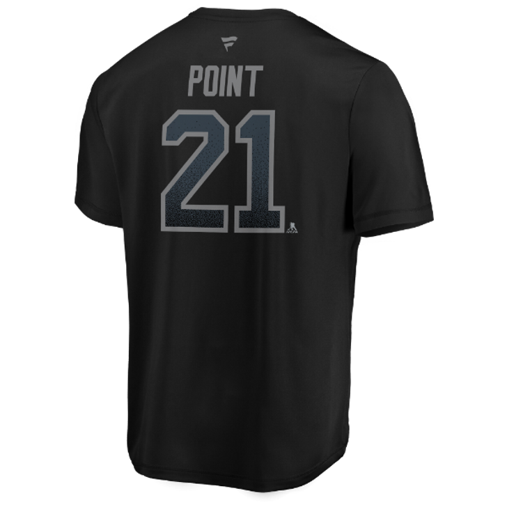 Men's Tampa Bay Lightning Brayden Point Name & Number Performance Third Jersey Tee