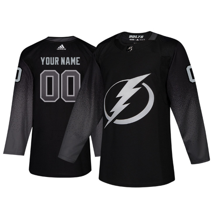 PERSONALIZED (CUSTOMIZED) adidas ADIZERO Lightning Third Jersey with Authentic Lettering