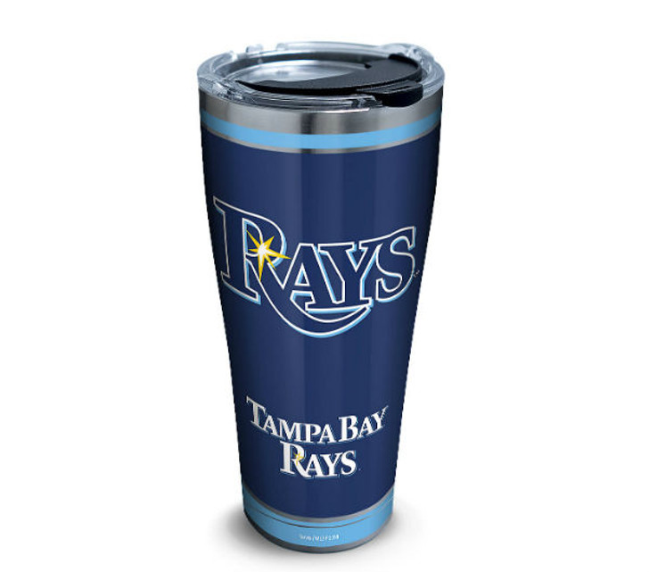 Tampa Bay Rays 30oz Stainless Steel Homerun Tervis Tumbler
