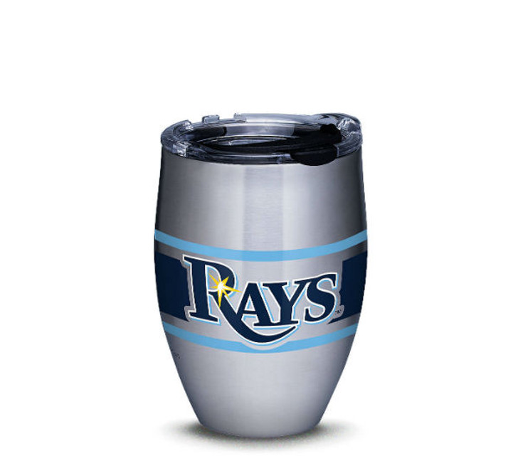 Tampa Bay Rays 12oz Stainless Steel Stripes Tervis Tumbler