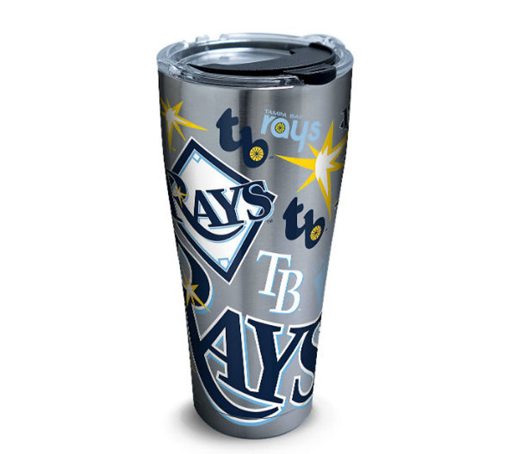 Tampa Bay Rays 30oz Stainless Steel All Over Tervis Tumbler
