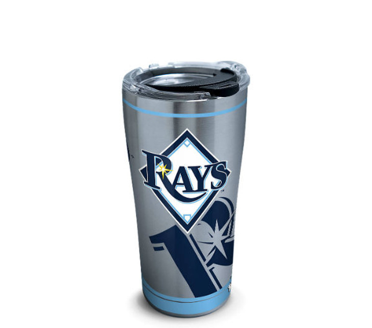 Tampa Bay Rays 20oz Stainless Steel Genuine Tervis Tumbler