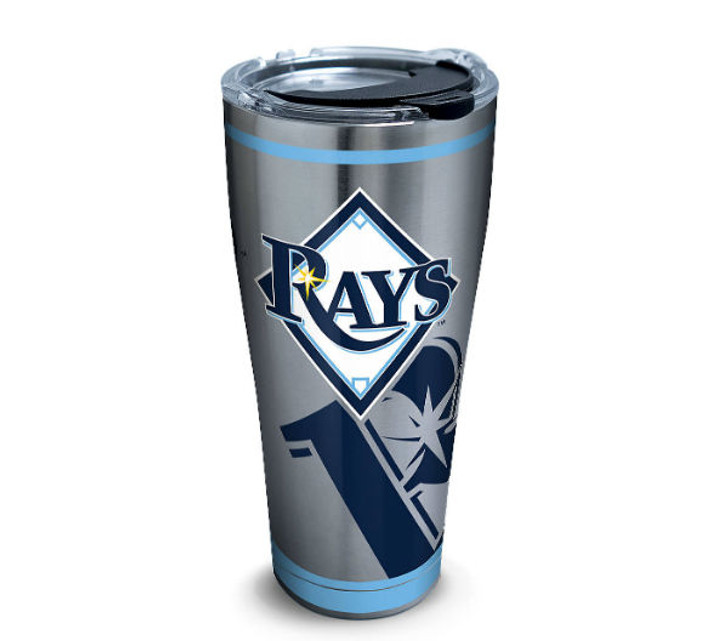 Tampa Bay Rays 30oz Stainless Steel Genuine Tervis Tumbler