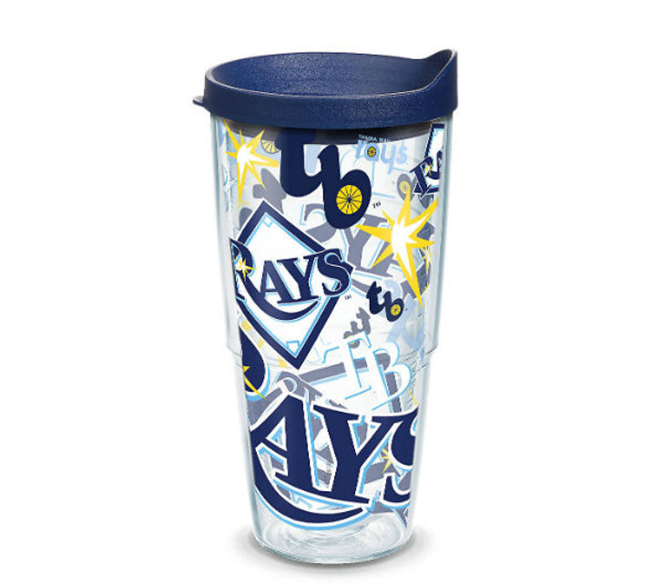Tampa Bay Rays 24oz All Over Tervis Tumbler