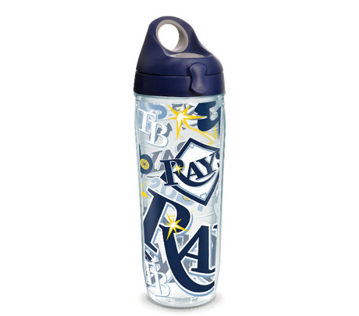 Tampa Bay Rays 24oz Water Bottle All Over Tervis Tumbler