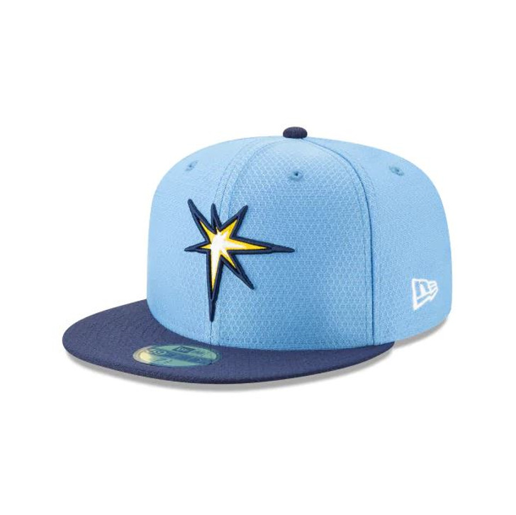 buy cheap sleek pre order Men's Tampa Bay Rays New Era 59FIFTY 2019 BP Fitted Hat - Tampa ...