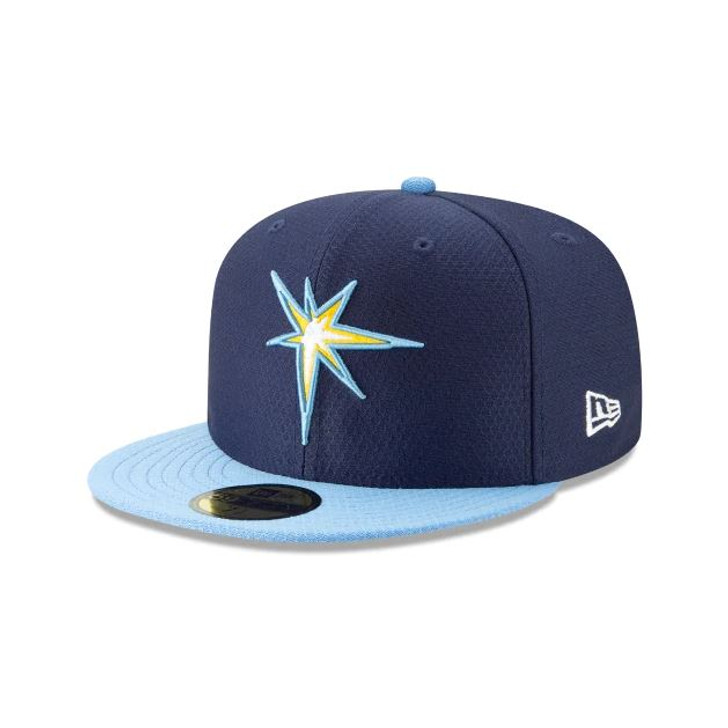 Men's Tampa Bay Rays New Era 59FIFTY 2019 BP Team Color Fitted Hat